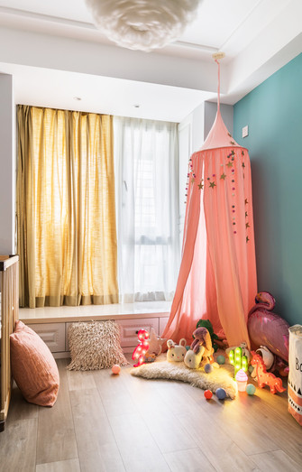 100平米北欧风格儿童房装修案例
