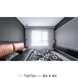 经济型130平米三室两厅混搭风格卧室图片