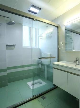 80平米北欧风格卫生间设计图