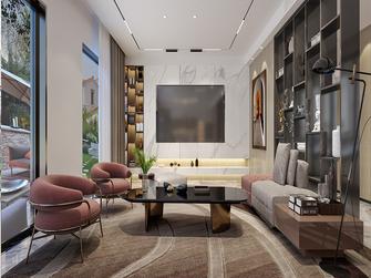 豪华型140平米复式现代简约风格客厅图