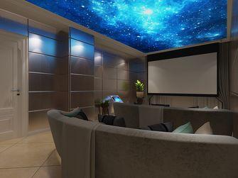 140平米别墅混搭风格影音室装修效果图