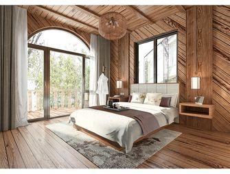 140平米别墅田园风格卧室装修图片大全