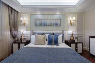 100平米三室两厅法式风格卧室设计图