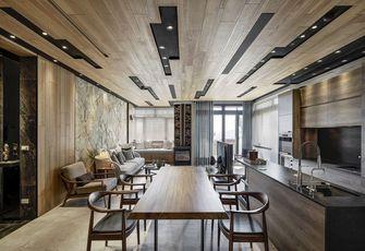 140平米四室两厅田园风格餐厅欣赏图