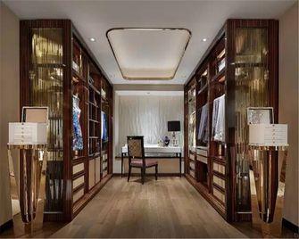 90平米三室一厅中式风格衣帽间图