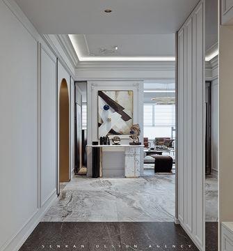 140平米四室一厅混搭风格玄关图