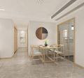 110平米四室两厅新古典风格餐厅设计图
