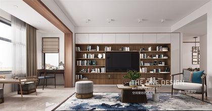 140平米三中式风格客厅设计图