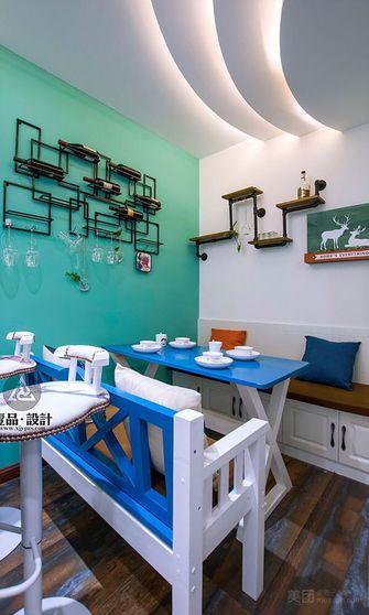 140平米复式地中海风格餐厅效果图