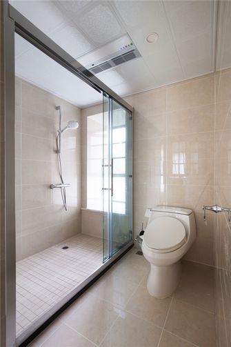 130平米三室三厅美式风格卫生间装修图片大全