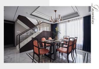 140平米复式中式风格餐厅装修案例