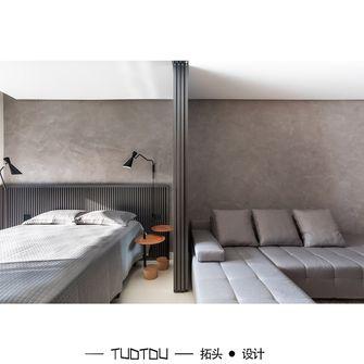 20万以上60平米一室一厅混搭风格卧室图