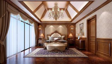 140平米别墅英伦风格卧室图