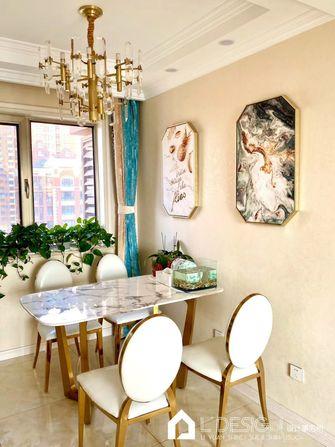 豪华型80平米三室两厅英伦风格餐厅设计图