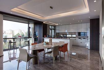 140平米四室三厅现代简约风格餐厅装修图片大全