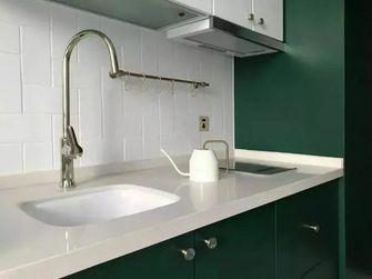 30平米小户型英伦风格厨房装修图片大全