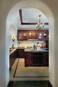 140平米复式地中海风格厨房装修效果图