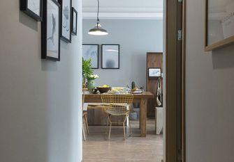 120平米三室一厅田园风格走廊效果图