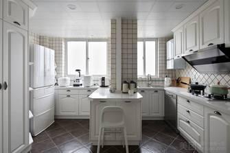 120平米三现代简约风格厨房设计图