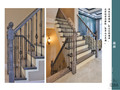 豪华型140平米别墅混搭风格楼梯装修效果图