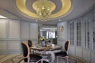 120平米三室两厅法式风格餐厅效果图