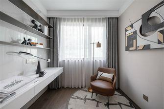100平米三室两厅混搭风格书房装修案例