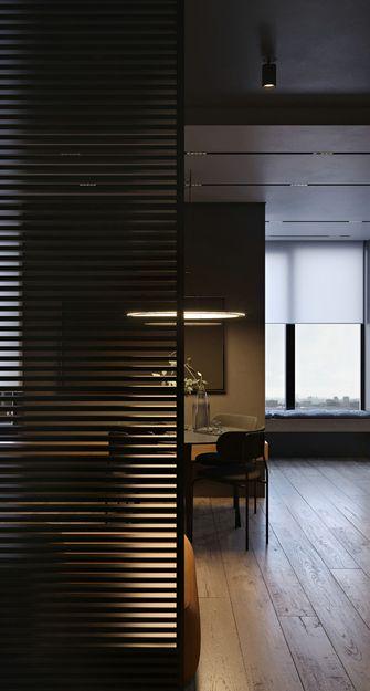 70平米三室两厅英伦风格玄关效果图