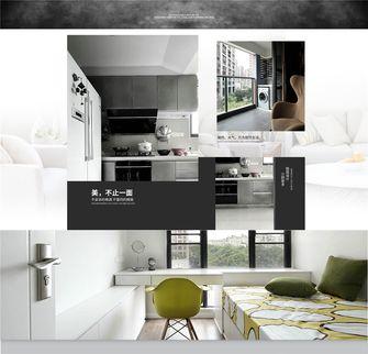 110平米三室三厅欧式风格厨房图片