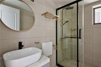 90平米四室两厅美式风格卫生间欣赏图