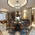 140平米复式中式风格餐厅家具图
