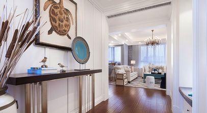 富裕型120平米三室两厅美式风格玄关图