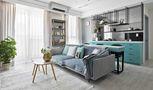 60平米一居室法式风格客厅欣赏图