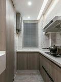80平米三室一厅宜家风格厨房图片