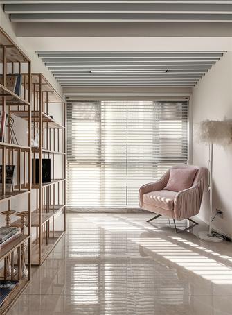 140平米三室两厅美式风格书房图片