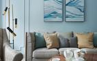 120平米四室两厅地中海风格客厅装修效果图