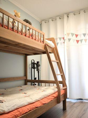 90平米三北欧风格儿童房装修案例