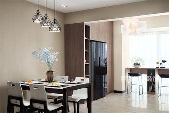 140平米三室三厅混搭风格餐厅装修案例