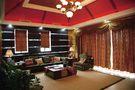 120平米别墅东南亚风格阳光房设计图
