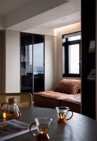110平米三室两厅现代简约风格阳台图片大全