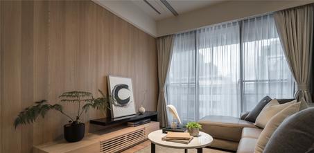 80平米三室两厅东南亚风格客厅效果图