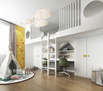 120平米三室两厅北欧风格儿童房图片大全