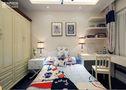 100平米三室两厅地中海风格儿童房橱柜欣赏图