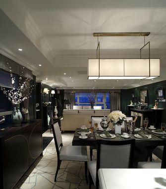 70平米公寓欧式风格餐厅图