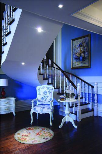 140平米别墅地中海风格楼梯间图