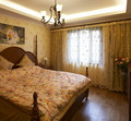 110平米田园风格卧室欣赏图