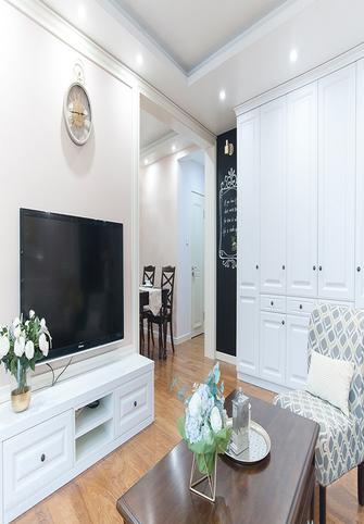 110平米美式风格客厅效果图