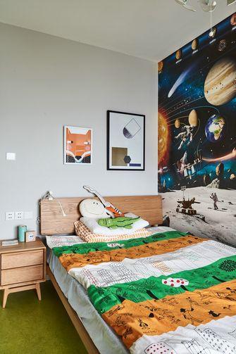 140平米复式北欧风格儿童房图