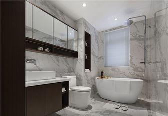 110平米三室一厅中式风格卫生间装修图片大全