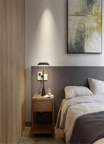 110平米现代简约风格卧室设计图
