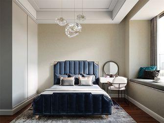 130平米三室三厅混搭风格卧室装修案例